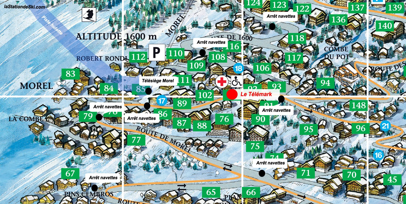 Le Telemark (Méribel)