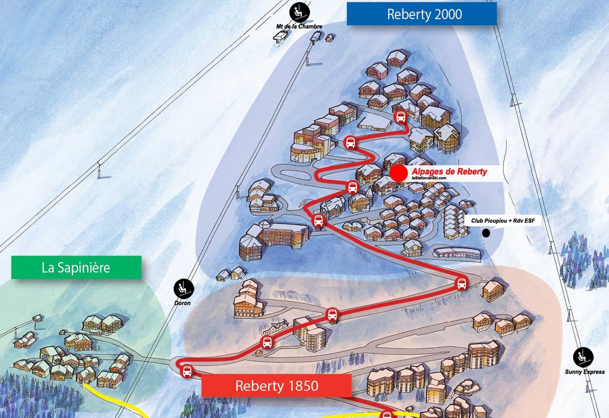 Les Alpages de Reberty (Les Menuires)