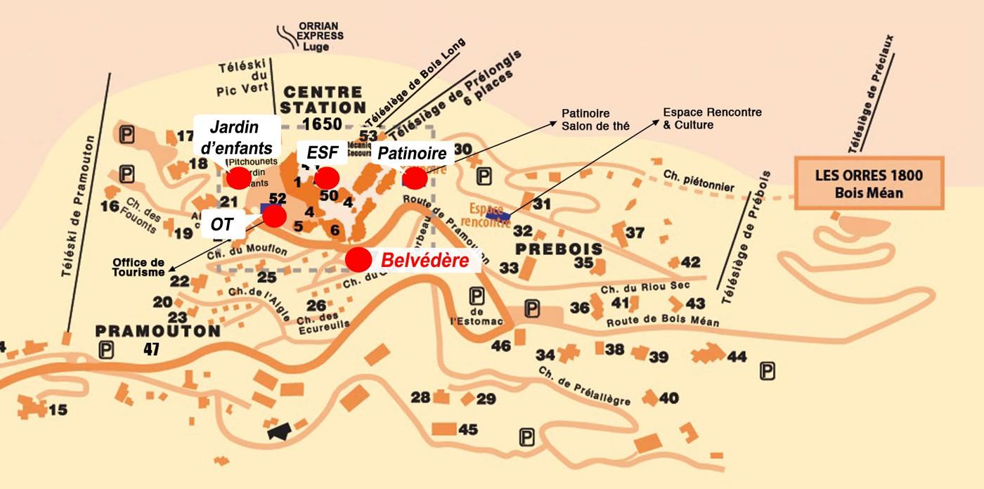 Belvédère (Les Orres 1800)