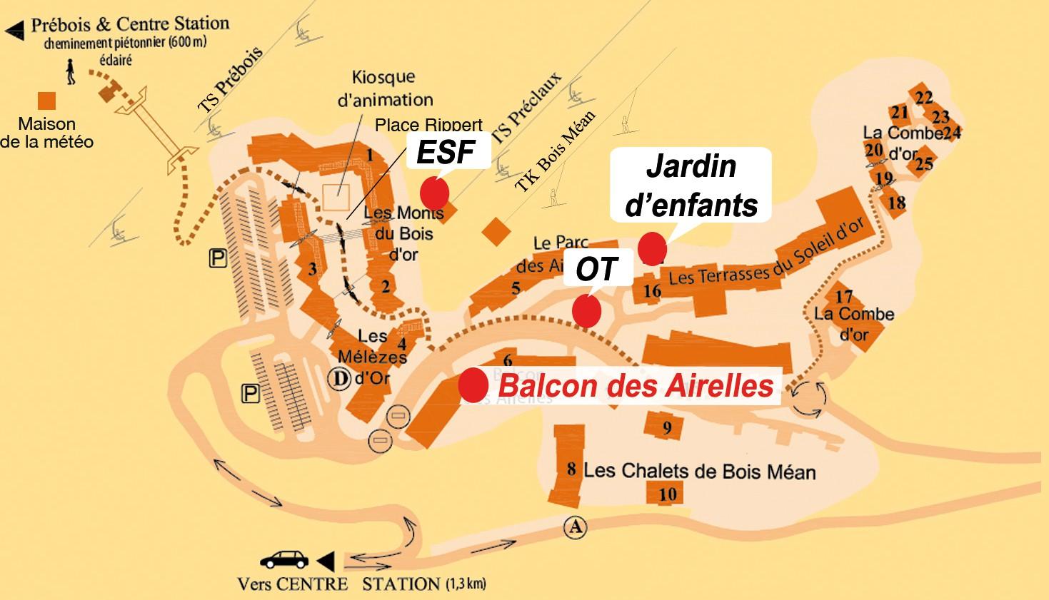 Balcon des Airelles (Les Orres 1800)