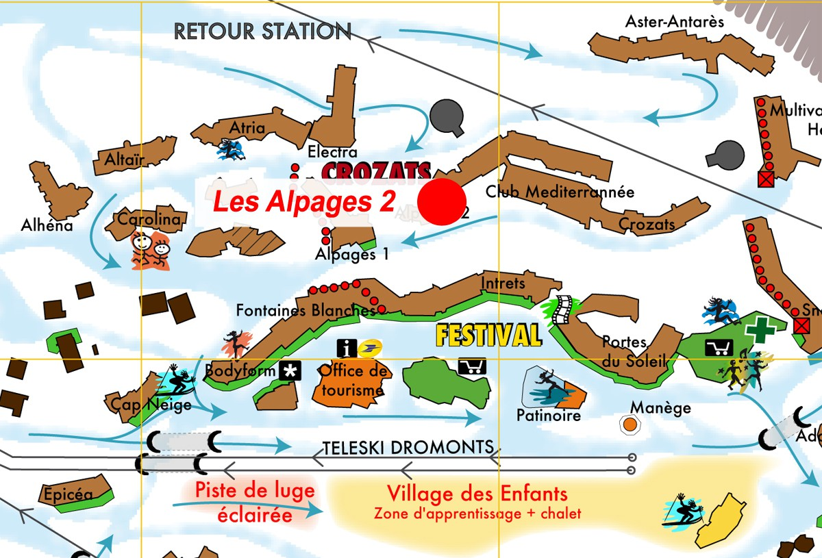 Les alpages 2 avoriaz webcam
