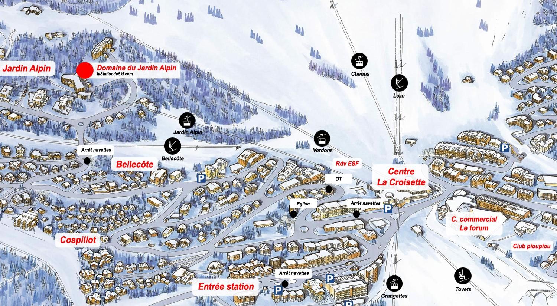 Le domaine du Jardin Alpin Courchevel