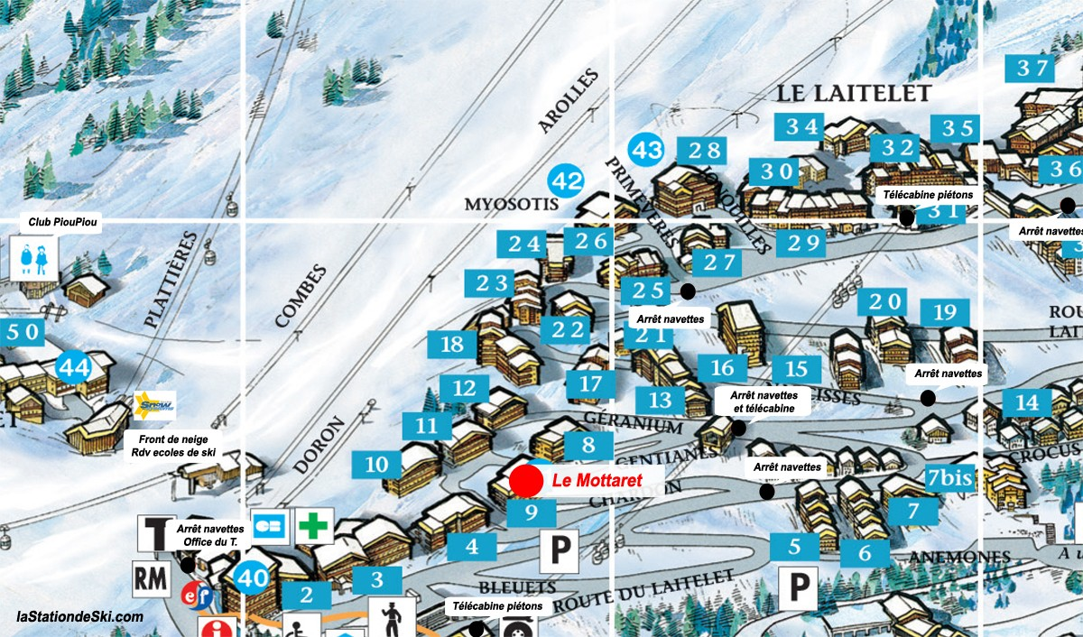 Plan station meribel mottaret webcam