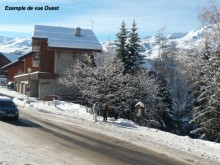 Les jardins d'hiver du Morel (Méribel)