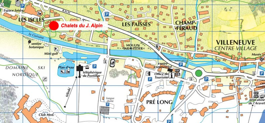 Les Chalets du Jardin Alpin 1 (Serre Chevalier 1400)