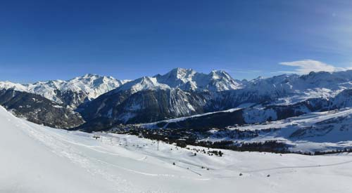 Courchevel - la Croisette - 1850 m�tres